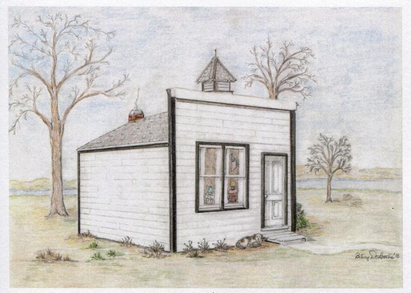 Pierre First Schoolhouse 1881