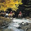September Outing - Foxhunting by Persis Clayton Weirs