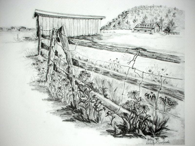 Fence Needs Fixin'