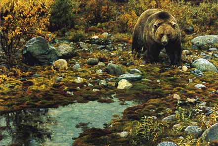 Trailblazer - Grizzley Bear by Carl Brenders